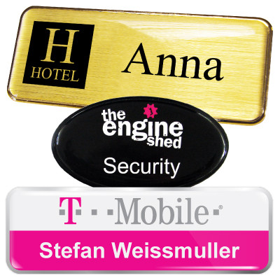Personalised Name Badges